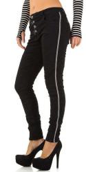 Dámske jeansové nohavice Mozzaar Q5489