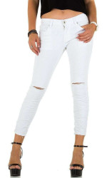 Dámske jeansové nohavice Mozzaar Q5491
