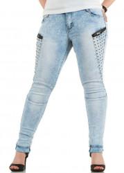 Dámske jeansové nohavice Nina Carter Q0305
