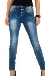 Dámske jeansové nohavice Place Du Jour Q4860