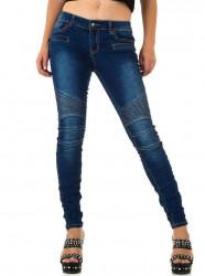 Dámske jeansové nohavice Q2656