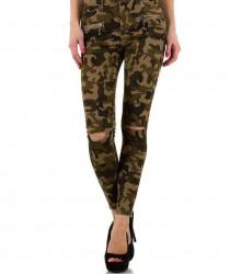 Dámske jeansové nohavice Q4169