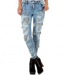 Dámske jeansové nohavice Q4177