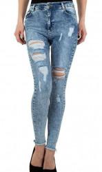 Dámske jeansové nohavice Q4836