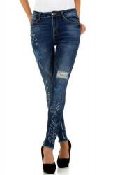 Dámske jeansové nohavice Q5182