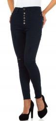 Dámske jeansové nohavice Q5486