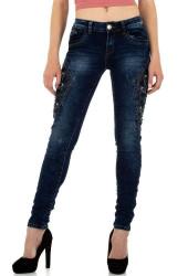 Dámske jeansové nohavice Q5788
