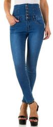 Dámske jeansové nohavice Q6492