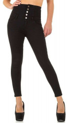 Dámske jeansové nohavice Q6692