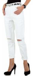 Dámske jeansové nohavice Q6696