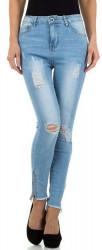 Dámske jeansové nohavice Q6702