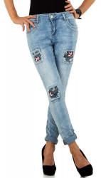 Dámske jeansové nohavice Q6703