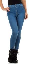 Dámske jeansové nohavice Q6708