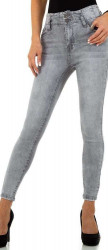 Dámske jeansové nohavice Q6794