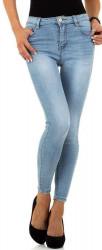 Dámske jeansové nohavice Q6797