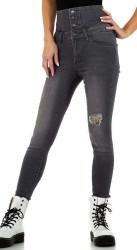 Dámske jeansové nohavice Q7156