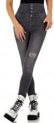 Dámske jeansové nohavice Q7156 #3