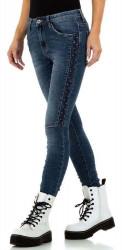 Dámske jeansové nohavice Q7163