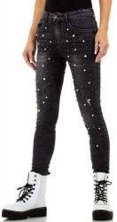 Dámske jeansové nohavice Q7169