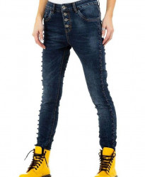 Dámske jeansové nohavice Q7375