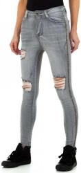 Dámske jeansové nohavice Q9591