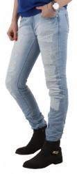 Dámske jeansové nohavice Simply Chic Q0788