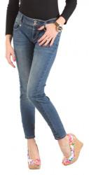 Dámske jeansové nohavice Sublevel W1508