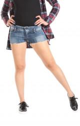 Dámske jeansové šortky Diesel W0810