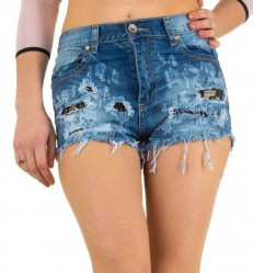 Dámske jeansové šortky Mozzaar Q2080