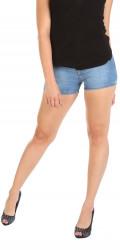 Dámske jeansové šortky Simply Chic W0648