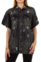 Dámske jeansové tričko Q5674