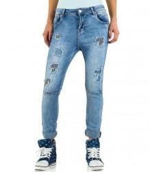 Dámske jeansy Mozzaar Q1232