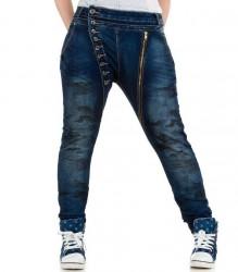 Dámske jeansy Mozzaar Q1243