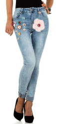 Dámske jeansy Mozzaar Q5503