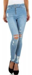 Dámske jeasnsové nohavice Q5484