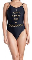 Dámske jednodielne plavky Golddigga H9812