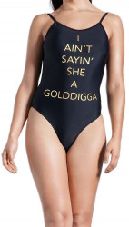 Dámske jednodielne plavky Golddigga H9812 #2