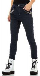 Dámske jensové nohavice Q7227