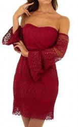 Dámske krajkové šaty Q7021