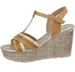 Dámske letné sandále Q4749