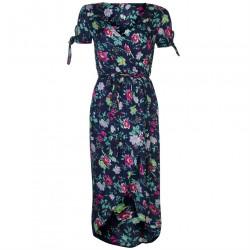 Dámske letné šaty s krátkym rukávom June Studios J4222
