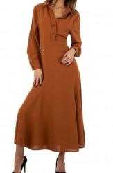 Dámske maxi šaty Q9183