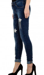 Dámske moderné jeansy Mozzaar Q4840 #1