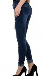 Dámske moderné jeansy Mozzaar Q4840 #2