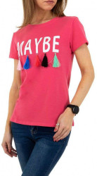 Dámske moderné tričko I0084