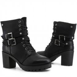 Dámske módne členkové topánky XTI L2157 #1