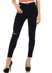 Dámske módne jeansy Milas Q5776