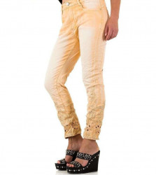 Dámske módne jeansy Mozzaar Q4453 #1