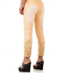 Dámske módne jeansy Mozzaar Q4453 #2