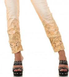 Dámske módne jeansy Mozzaar Q4453 #3